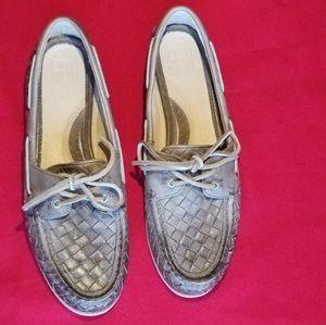 Frye Quincy Soft Weave Boat Shoe
